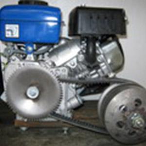 Четырехтактные двигатели с трансмиссией