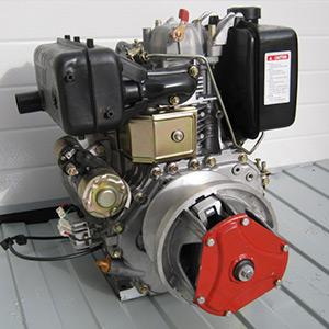 Дизельный одноцилиндровый двигатель 406 куб.см.