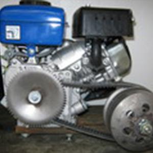 Двигатель 3 л.с. с клиноременным вариатором