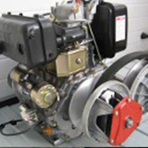 Дизельный двигатель 10 л.с. с клиноременным вариатором