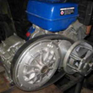 Двигатель 13-14 л.с. с клиноременным вариатором и реверсом