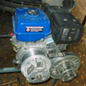 Двигатель 13-14 л.с. с клиноременным вариатором