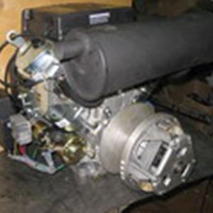Двигатель 20-24 л.с. с клиноременным вариатором