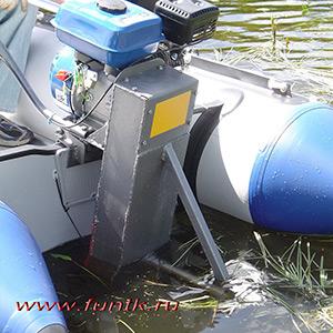 Подвесной лодочный мотор мощностью 6,5 л.с.