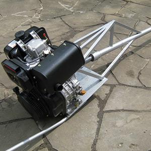 Дизельный подвесной лодочный мотор мощностью 6 л.с.