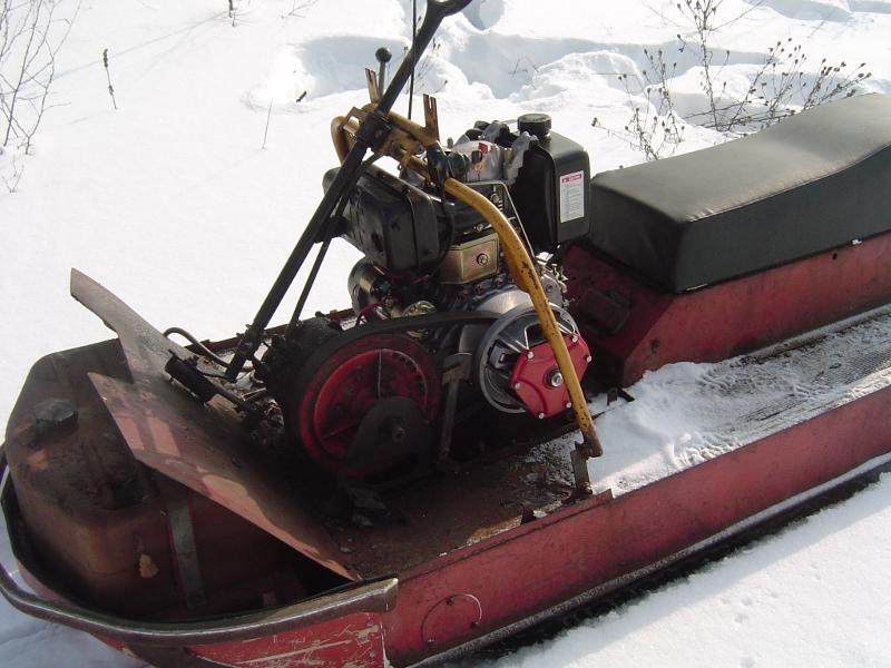 снегоход буран двигатель