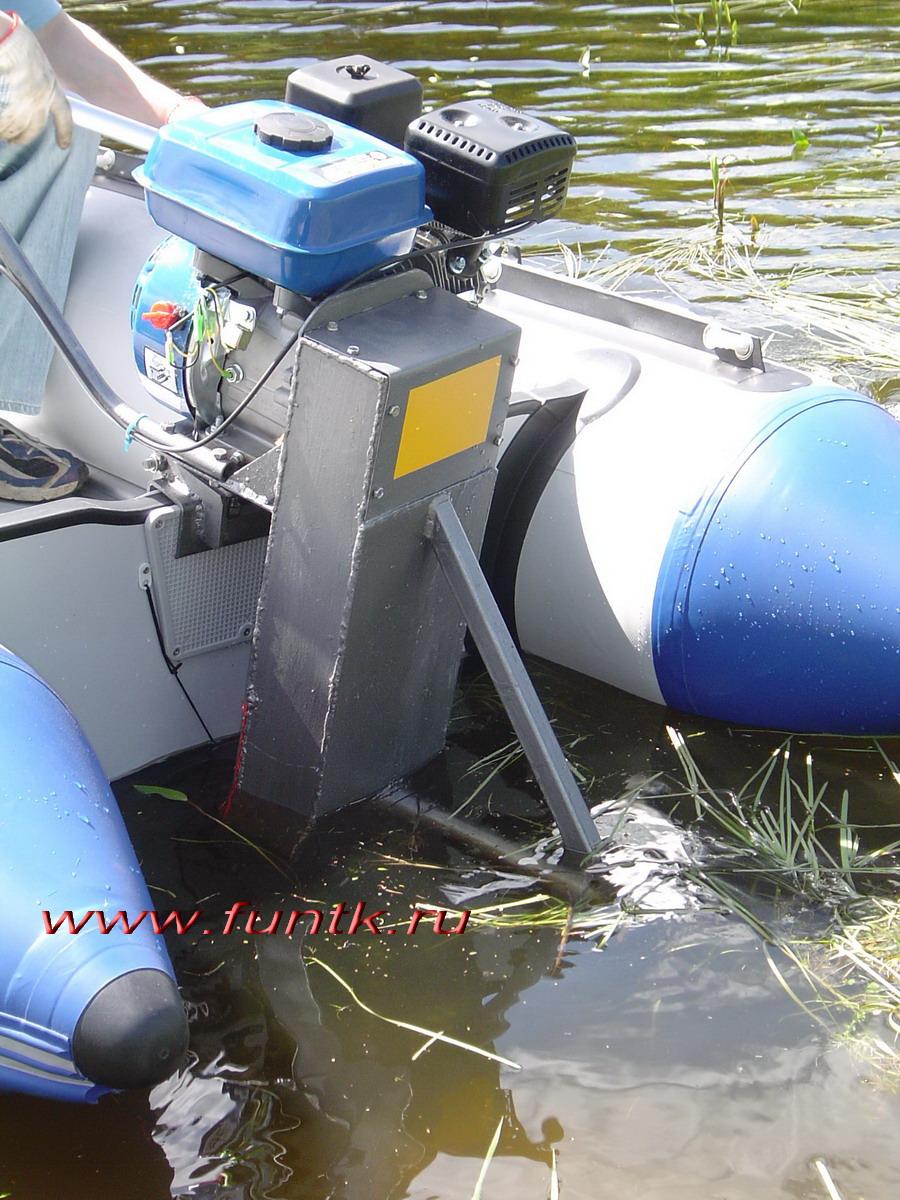 сборка лодочного болотохода