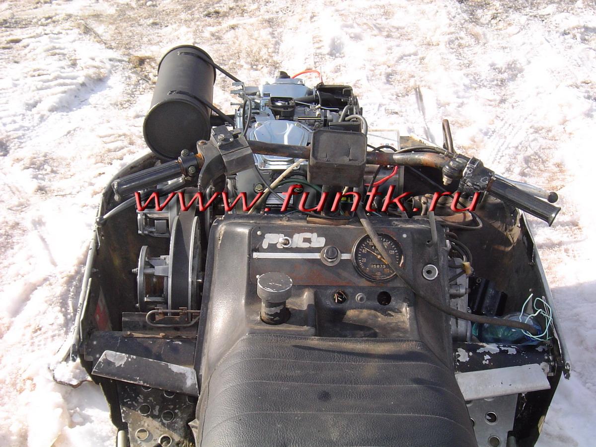 инструкция по установке двигателя лифан на снегохода буран