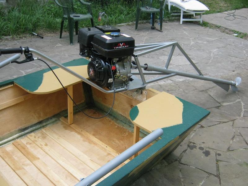 Как самому сделать лодочные моторы 56