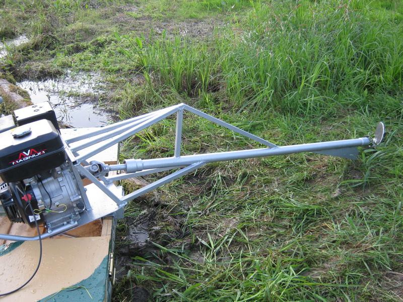 болотоход для лодки своими руками видео